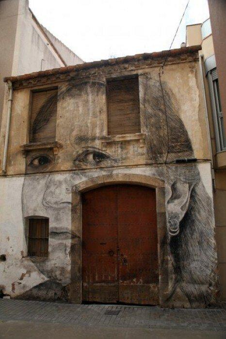 Уличное искусство. Jorge Rodriguez-Gerada 3