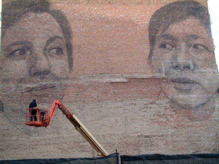 Уличное искусство. Jorge Rodriguez-Gerada 25