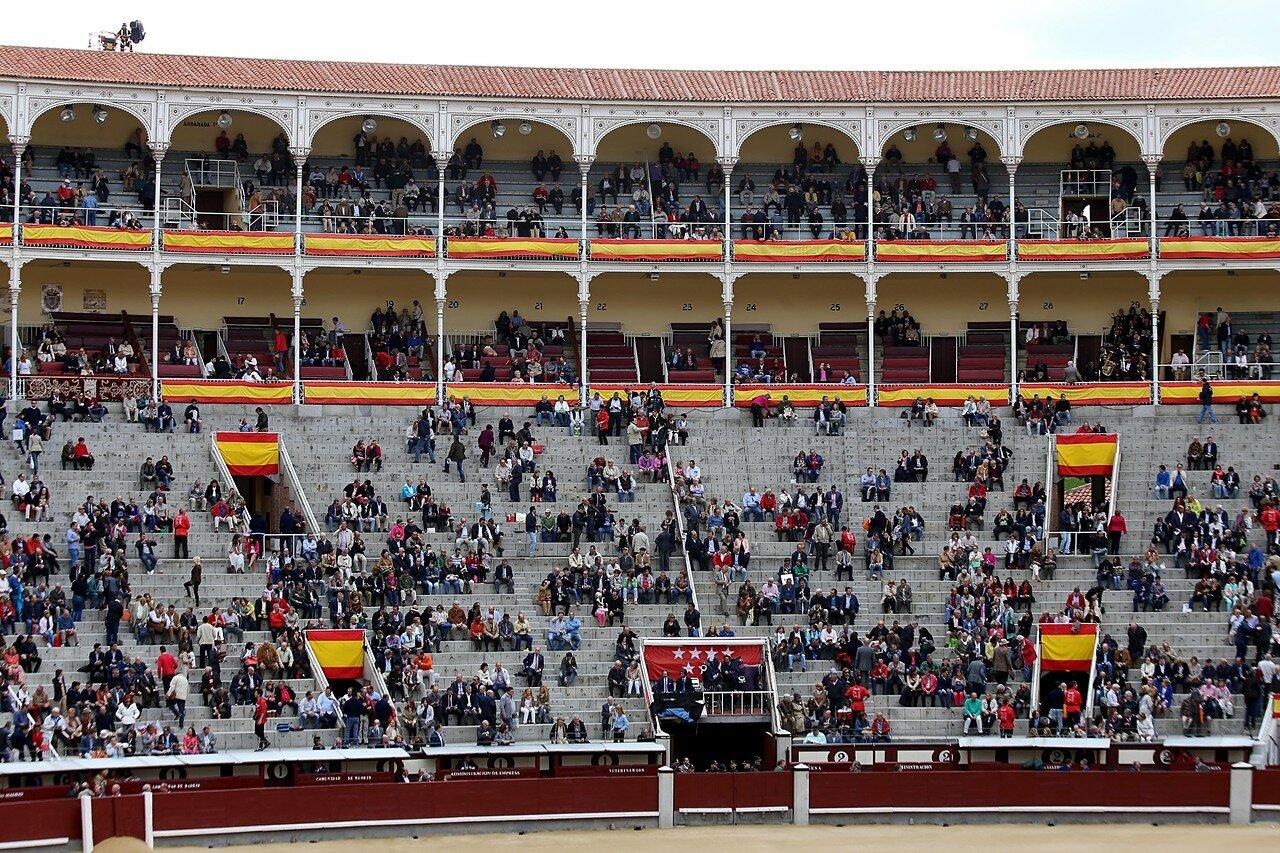 Мадрид. Арена для боя быков Лас-Вентас (Plaza de Toros de Las Ventas)