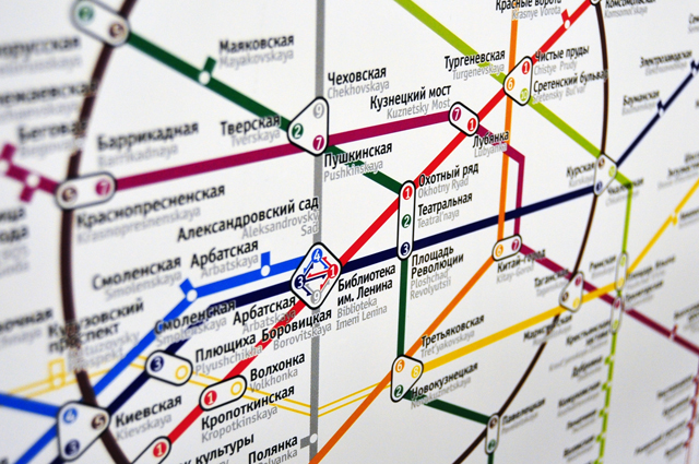 Новые схемы линий в Московском