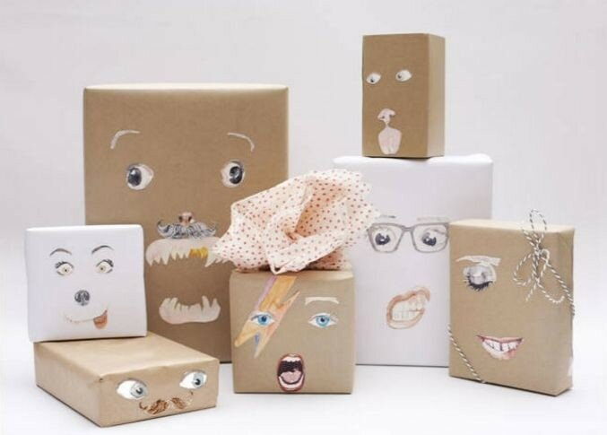 Упаковочная бумага своими руками