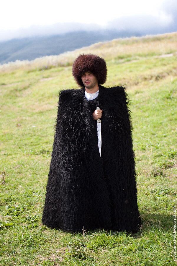 Чечня, село Хой