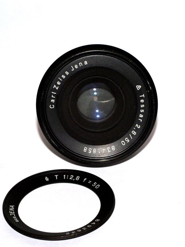 jena 50mm f2 8 brightness comparison