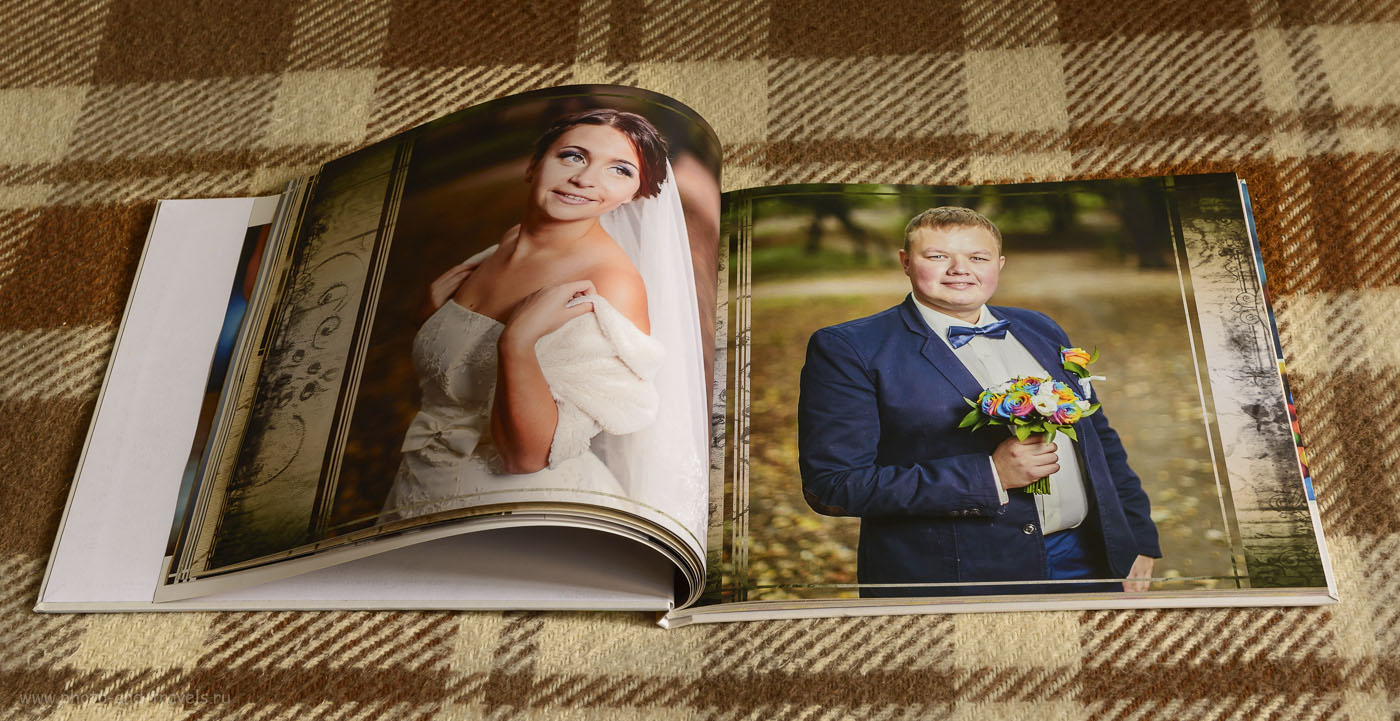 22. Экспериментируйте с форматами фотографий, при составлении свадебного альбома