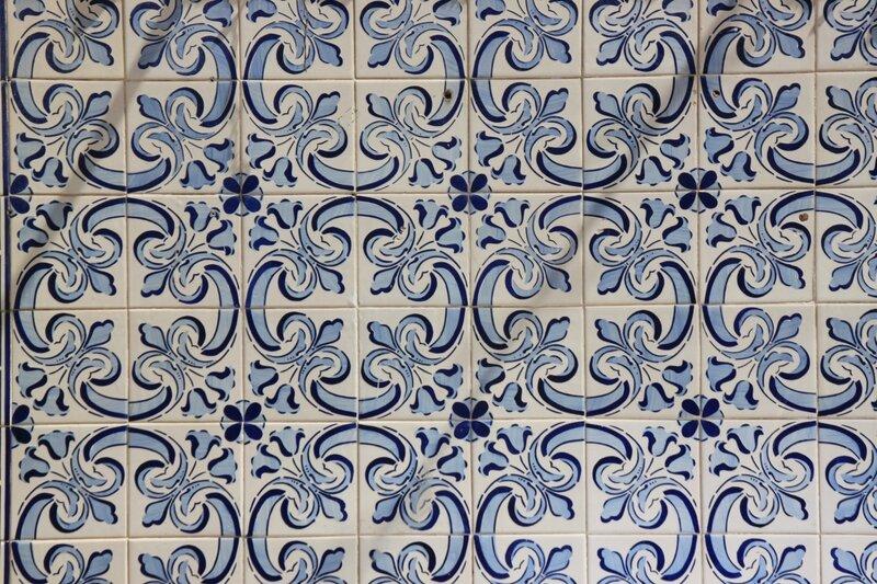 Португалия, Лиссабон – азулежу (Lisbon, Portugal – azulejos)