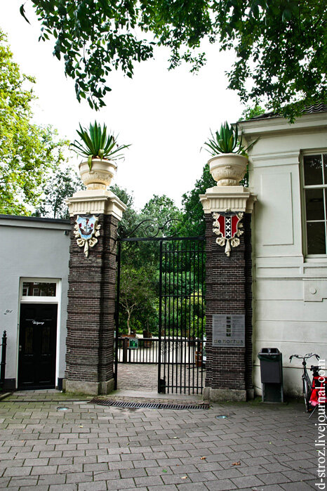 Амстердам ботанический сад