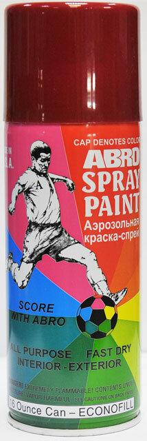 Краска спрей вишневая А-075 Abro