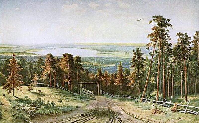Кама близ Елабуги. 1895 г. И.И. Шишкин.jpg