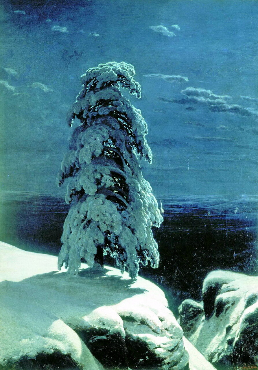 На севере диком. 1891 г. И.И. Шишкин.jpg