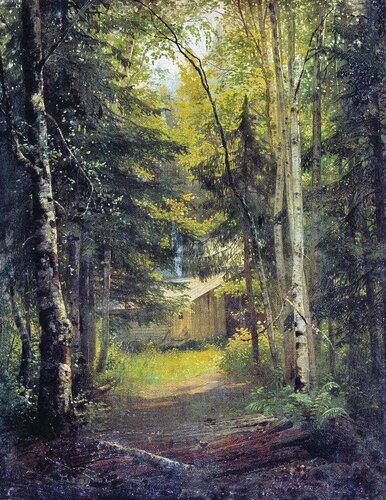 Сторожка в лесу. И.И. Шишкин.jpg