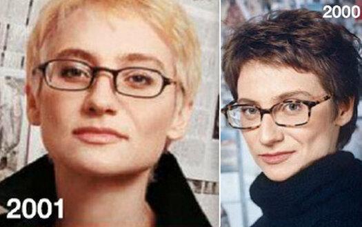 Эвелина хромченко в молодости и сейчас фото