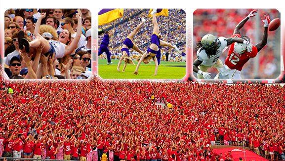 Студенческий чемпионат по американскому футболу 2012 - 1-ая неделя /