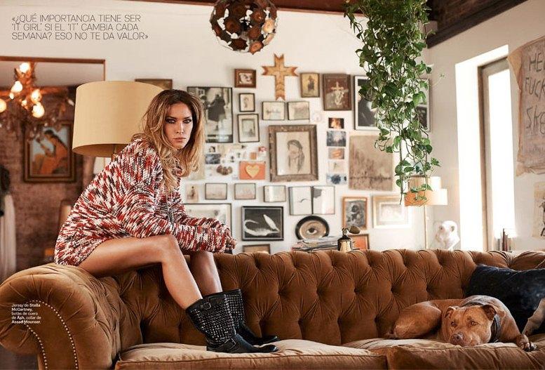 модель Эрин Уоссон / Erin Wasson, фотограф Eric Guillemain