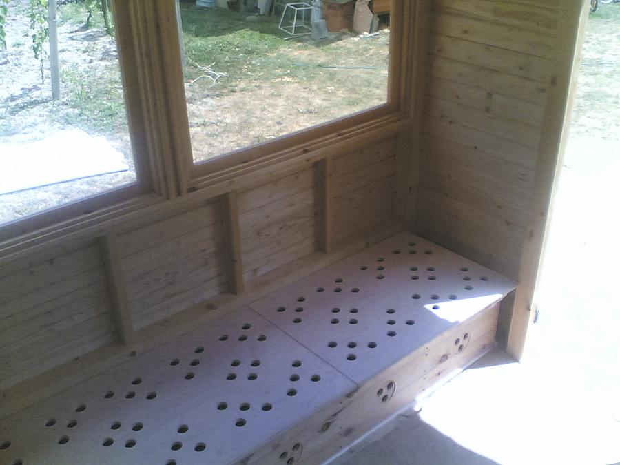 Схема пчелиных домиков