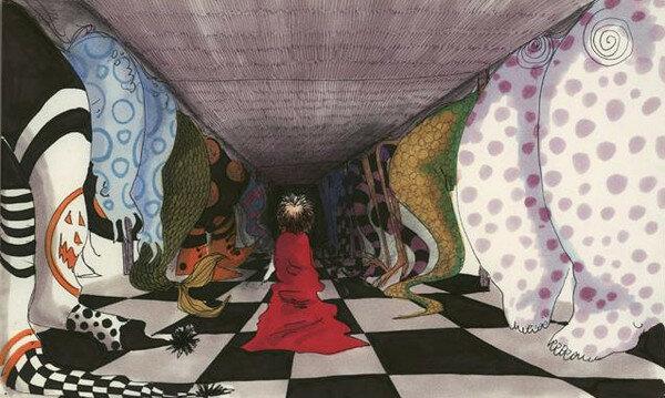 Tim Burton's world