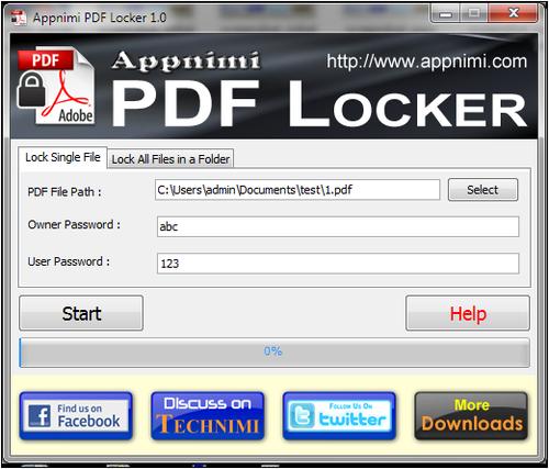 Защита PDF документов паролями