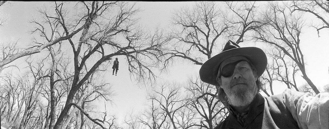2010. Джефф Бриджесс на съемках фильма «Железная хватка»