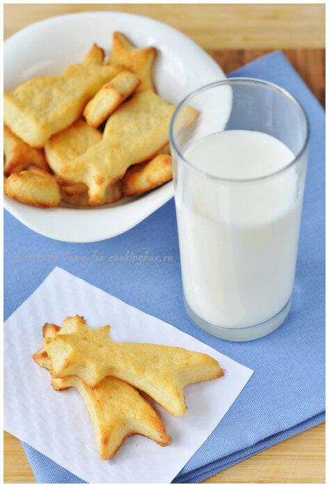 детское творожное печенье фото рецепт