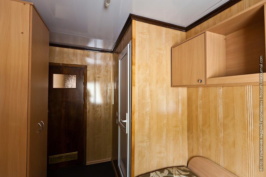 Двухместная одноярусная каюта со всеми удобствами №250 в кормовой части средней палубы теплоход Иван Кулибин