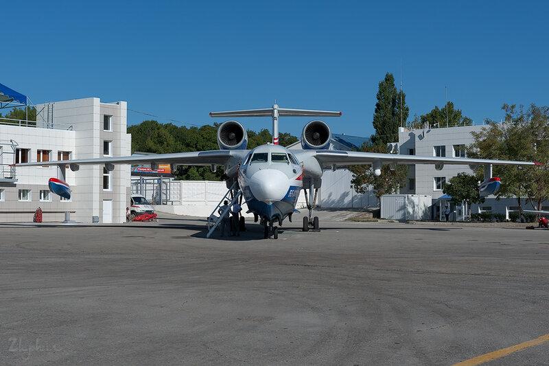 Бериев Бе-200ЧС (RF-21512) ТАНТК Бериева DSC_4399