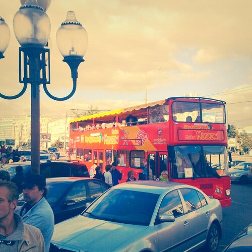 Москва через мобильник