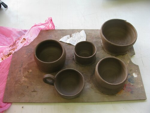 Чашка из глины своими руками
