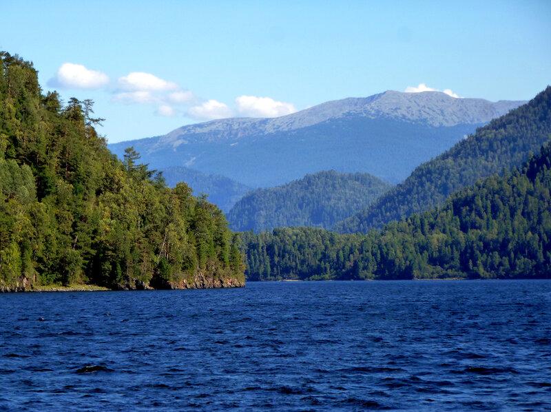 В горах Алтая: Телецкое озеро