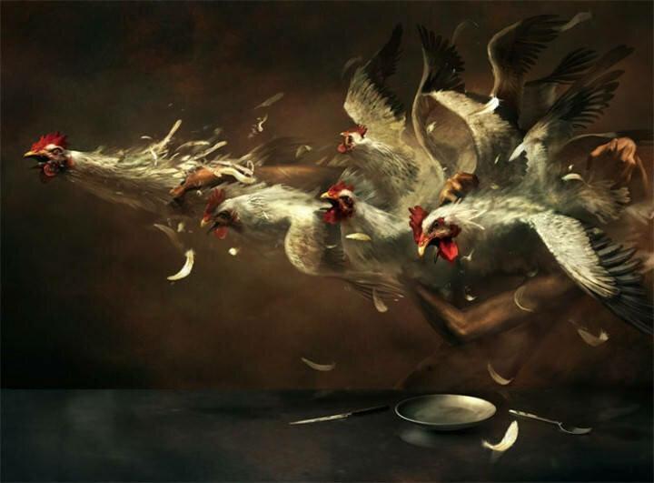 Ryohei Hase. Современный художник из Японии 21