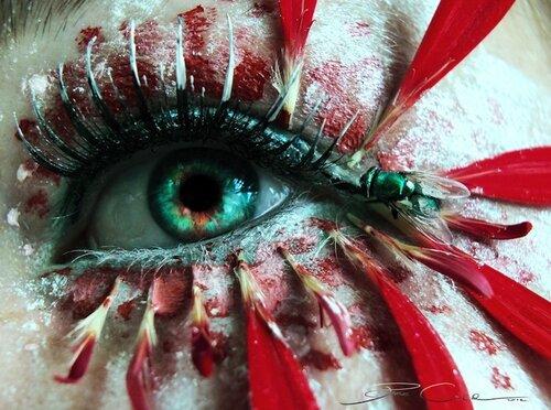 Художественный макияж от Свения Шмитт (Svenja Schmitt)