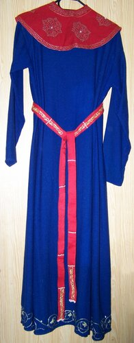 Русское платье  и мех
