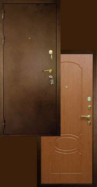 """Дверь взломостойкая  """"Эльбор премиум """" с установкой."""
