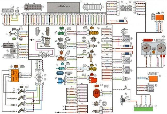 Сборник схем электрических соединений автомобилей lada samara.