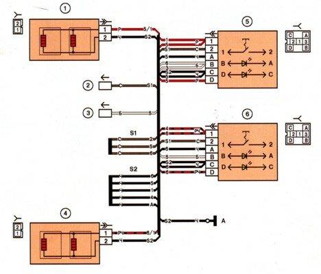 Схема диагностической колодки ваз 2115 Схема электрических колодка диагностики Местонахождение диагностических...