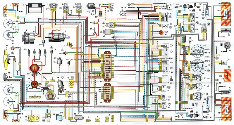 Схема тахомтра ваз 2106.  Схему подключения тахометра на ваз 2101.