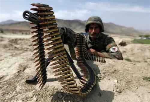 Афганская армия и полиция