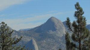 Glacier Point в парке Йосемити. Калифорния