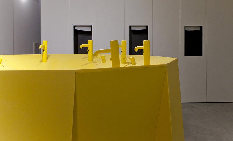 Дизайнерский туалет 'Espacio Renova'