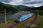 Электровоз ВЛ80ТК-1339 с грузовым поездом