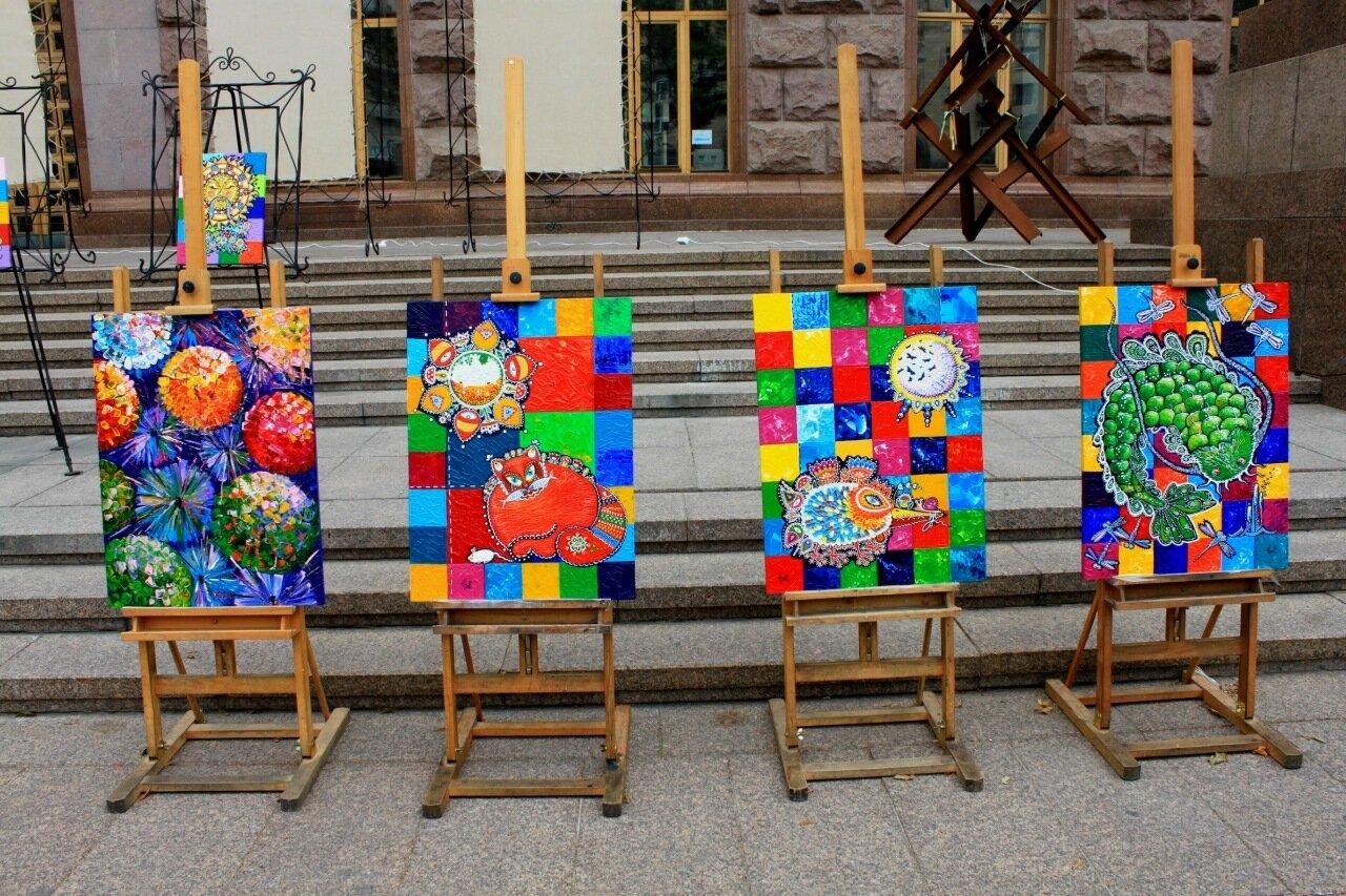 экспозиция живопись крещатик киев