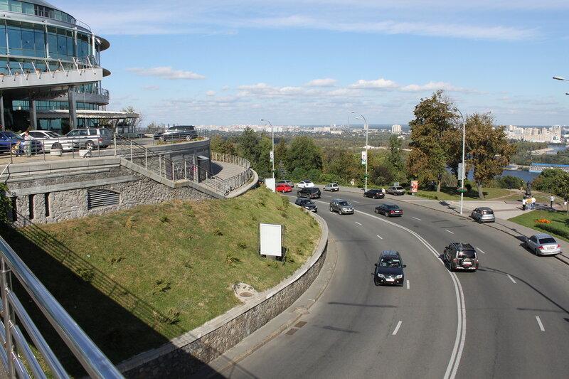 Вил с мостика парка Славы
