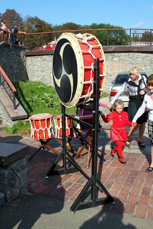 Японские барабаны