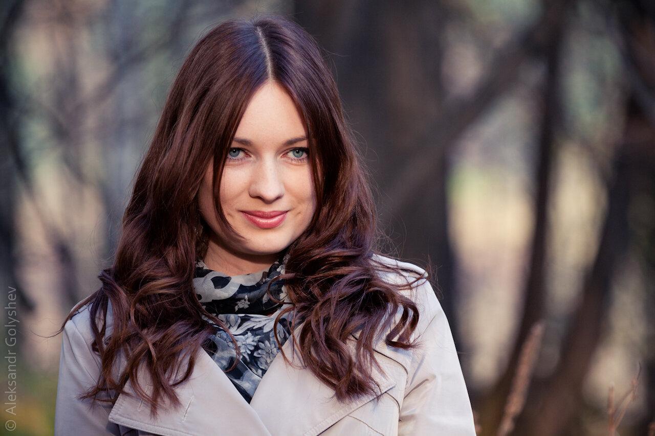 Таня. Осенняя фотопрогулка.