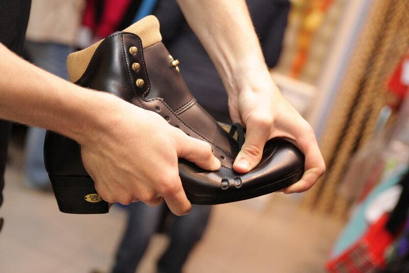 Фигурные ботинки высшего уровня компании Riedell (США)