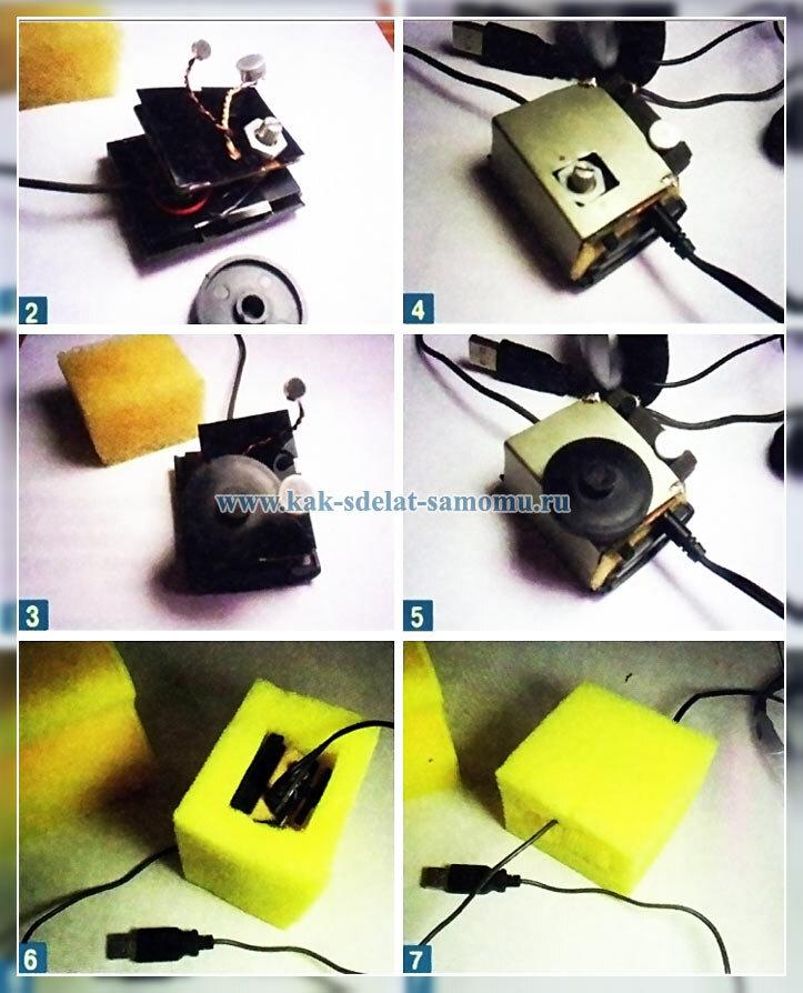 микрофон своими руками фото и схемы