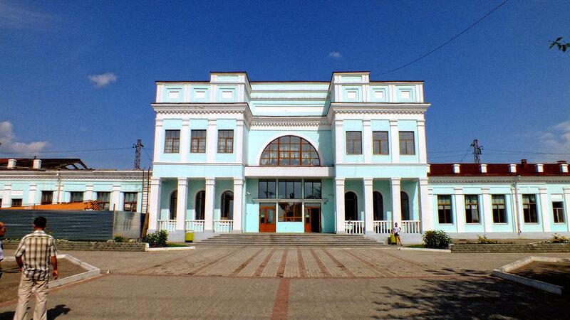 Жд вокзал Уссурийска