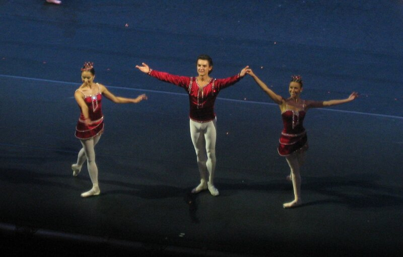 """""""Драгоценности"""", 22.09.2012 г., балет Большого театра, поклоны"""