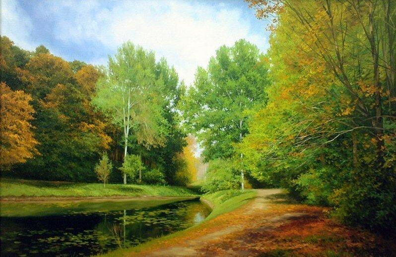 Шевчук Николай. Осенний пруд