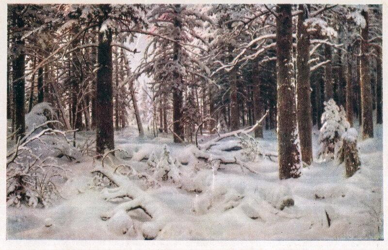 001. Шишкин 002. И.И. Шишкин. Зима. 1890 г.