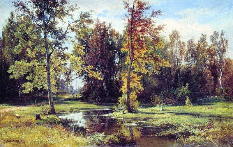 Берёзовый лес. 1871 г. И.И. Шишкин.jpg