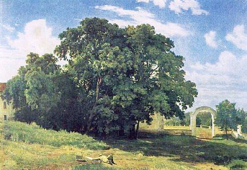 Церковь. Валаам.1867 г. И.И. Шишкин.jpg